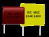 聚乙酯薄膜電容器|MEC (CL23) series , MEF (CL21) series  MEM (CL21X) series , MEB (CL23B) series