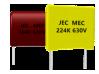 聚乙酯薄膜電容器|MEC (CL23) series , MEF (CL21) series  MEM (CL21X) series , MTE (CL21S) series